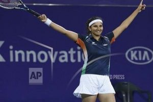 Sania wins Brisbane women's doubles title