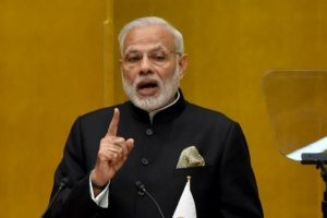 PM Modi hits out at 'political worshippers' of blackmoney, graft
