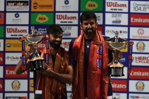 Bopanna-Jeevan clinch Chennai Open doubles trophy