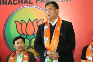 Khandu hits out at Congress for painting BJP as 'anti-Christian'