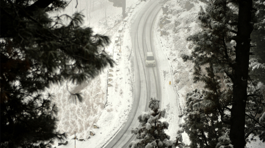 Snow, Himachal,Pradeh, Vehicular, Traffic