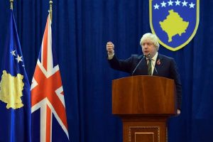 UK Foreign Secretary in US to meet Trump's team