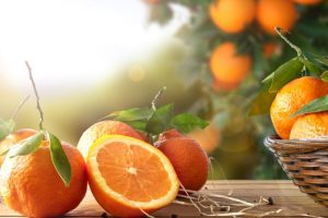 Stay fit with an orange a day