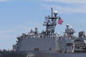 US Navy fires warning shots at Iranian boats