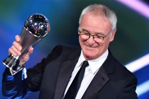 Claudio Ranieri wins Best FIFA Men's Coach 2016 gong