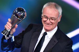Claudio Ranieri wins Best FIFA Men's Coach 2016 gong