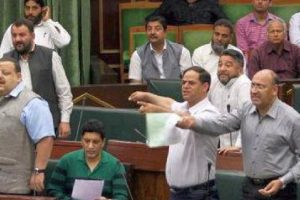 Oppn stalls J-K Assembly demanding compensation for unrest deaths