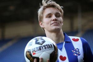 Real Madrid loan prodigy Odegaard to Heerenveen