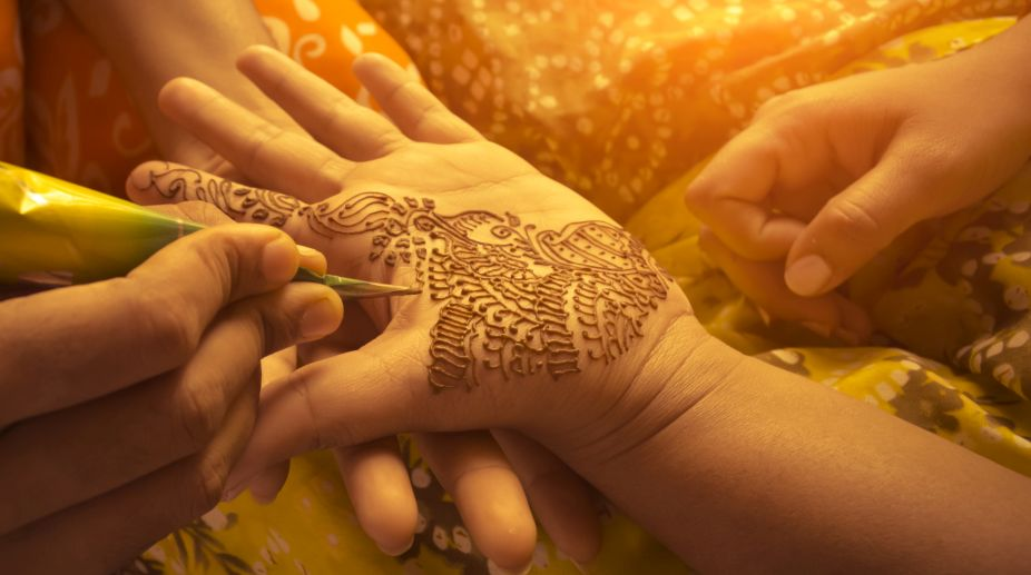 Mehndi for beauty and happiness