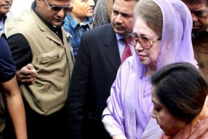 BNP leaders, activists demand Khaleda's release