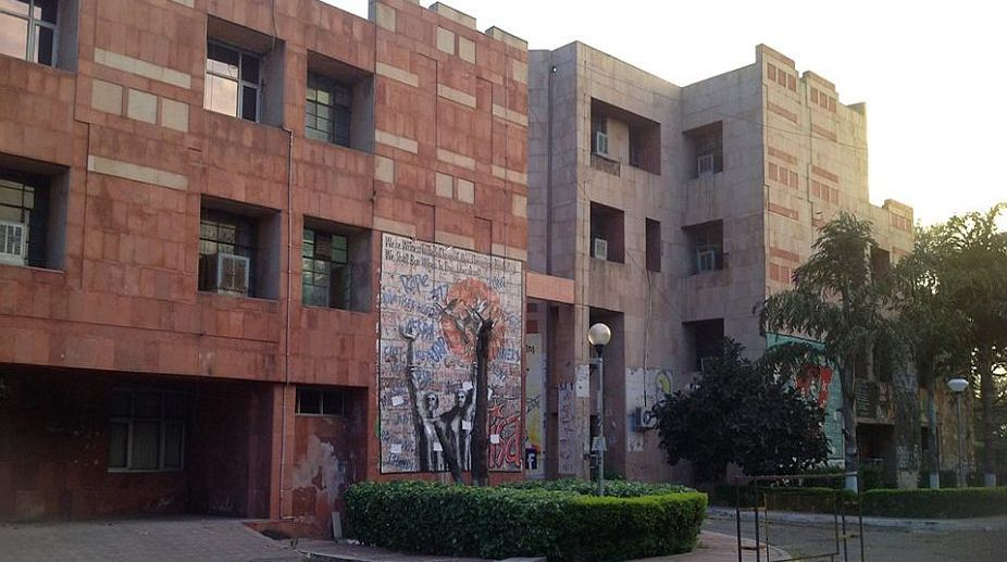 JNU professor, accused of making lewd remarks and molesting students, booked