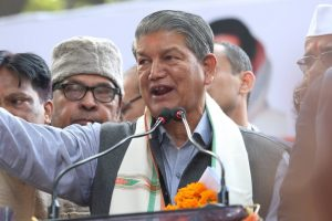 Why are rebels on Harish Rawat's target?