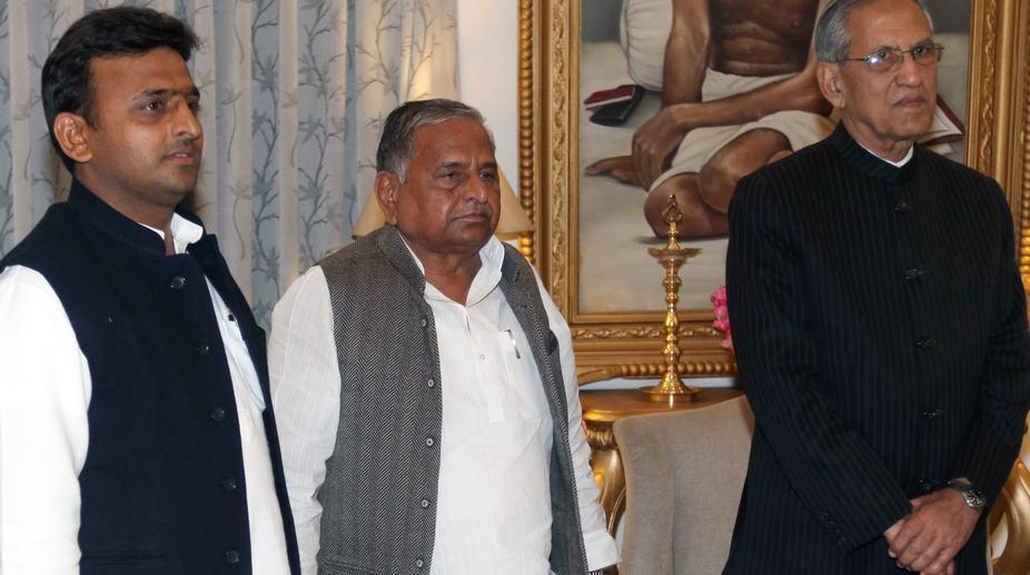 Mulayam Singh Yadav, Akhilesh Yadav