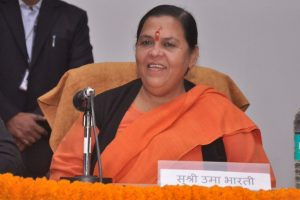 Uma Bharti saved from Cabinet axing by RSS?