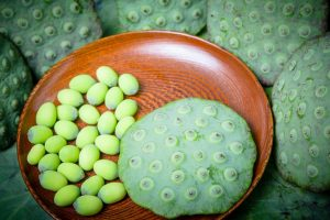 Crystalised lotus seeds, a scrumptious way to health