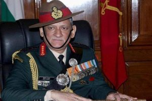 Will retaliate 'more strongly' if you force us: General Rawat to Pakistan