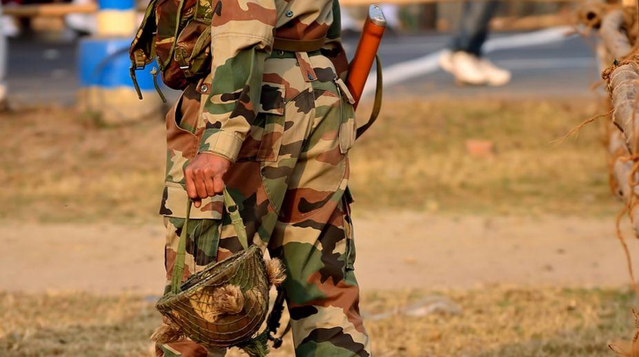 Soldier arrested