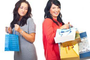 Jealousy may make you shop