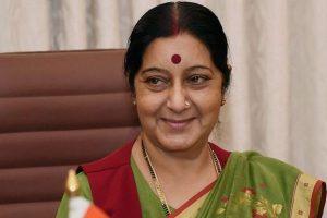 Swaraj asks Embassy in Riyadh to keep her informed on Indian jailed in Saudi