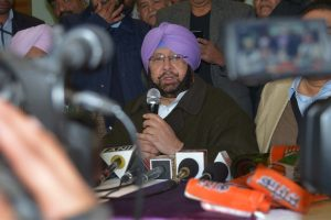 Cong prez to decide on CM face: Amarinder