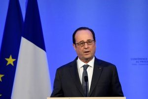 French President says EU requires no 'outside advice'