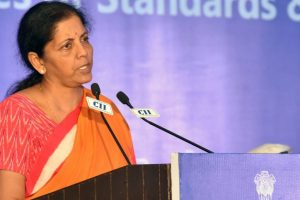 Globalisation under attack, world needs reality check: Sitharaman
