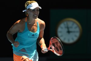 Australian Open: Birthday girl Kerber unwraps perfect present