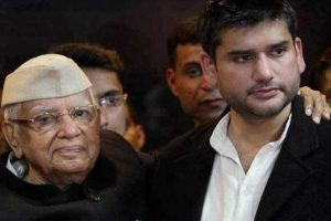 Ignored by Congress, ND Tiwari joins BJP for son's political career