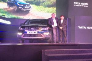Tata Hexa launched at Rs. 11.99 Lakh
