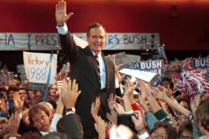 Ex-US President George Bush admitted to hospital