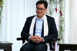 Sikkim students call on Kiren Rijiju