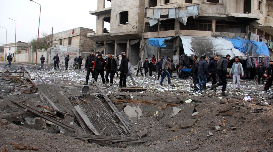 Syria, Syria Chemical attacks, Syrian, Chemical attack symptoms, WHO