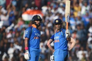 2nd ODI: Dhoni, Yuvraj power India to series win