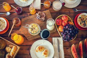 Smart breakfast choice for healthy living