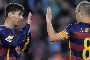 La Liga: Barcelona's Iniesta to miss match against Eibar