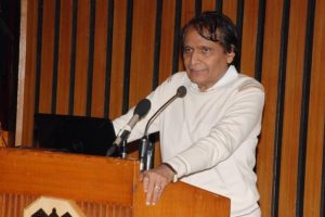 Suresh Prabhu indicates loss of portfolio