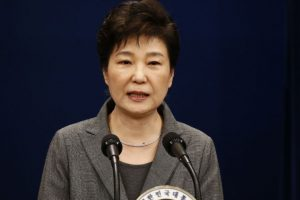 South Korea justice urges rapid ruling on Park