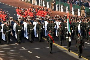 UAE military takes part in Republic Day parade