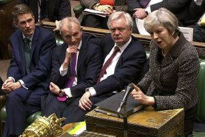 Britain to table Brexit draft law for MPs' views