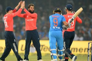 1st T20I: Moeen Ali-powered England restrict India to 147/7