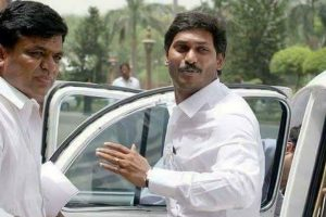 Jaganmohan Reddy sent back from Vizag airport