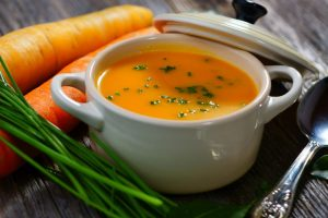 Add healthy vegetable soups to your fitness menu