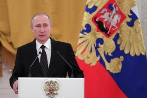 Vladimir Putin urges citizens to vote in presidential election