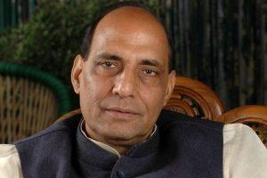 Govt proud of slain terrorist Saifullah's father: Rajnath
