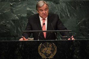 UN must strenghten action on human rights: Guterres