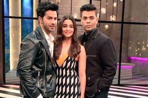Alia, Varun to appear on 'Koffee With Karan'