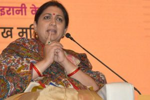 Irani distributes welfare schemes to SCs
