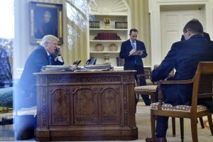 Trump, Putin discuss normalising ties, fighting terrorism