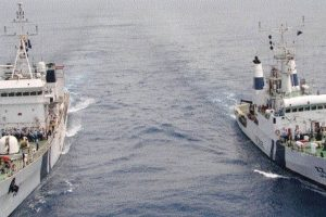 Navy downplays concerns of international naval exercise by Pak