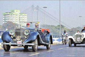 Kolkatans go on trip back in time, vintage style